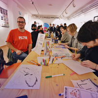 Kreatív workshopok a képregényfesztiválon