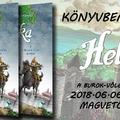 2018. 06. 06. - Helka-képregény bemutató a Magvető Caféban