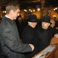 Azt ismered, hogy a Viktor meg a Feri bemennek a zsinagógába?