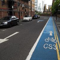A magyar biciklis nem fél Londontól