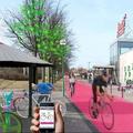 Kétszer két sávos kerékpáros szupersztrádát építenek a svédek