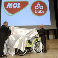 Almazöld lesz Budapest biciklije