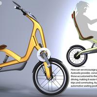 Autósokat szoktatna biciklire a neves autódizájner