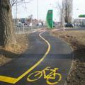 Galériázta bicikliútjainak megoldásait a BKK