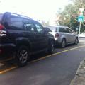 Terepjárós parkolási gyakorlat