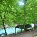 Pihenő a Tara patak partján - Borúra Derű