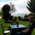 Ebéd az Ohridi-tó partján