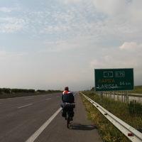 Biciklivel autópályán?