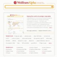 Kérdezd a keresőt: Wolfram Alpha