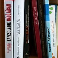 Hálózattudomány és nyelv - magyar könyvek