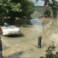 Kert, árvíz után