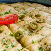 Fokhagymás pizzakenyér