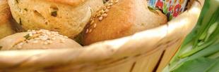 Medvehagymás villámpogácsa