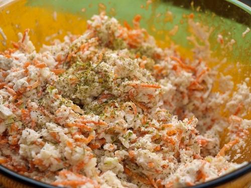 Vegán coleslaw saláta