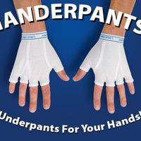 Fázik a kezed?Húzz rá alsógatyát!