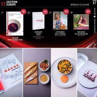 Gourmand World Cookbook Awards 2017 - EZÜSTÉREM!