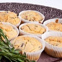 Tárkonyos-gombás muffin