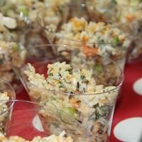 Fetás quinoa saláta édesburgonyával