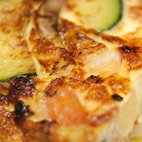 Tortilla friss zöldségekkel