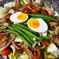 Nizzai saláta, kis húsvéti utánérzéssel