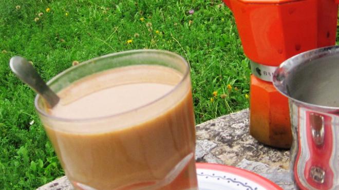 Őszköszöntő sütőtökös kávé