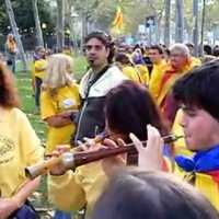 Nemzeti ünnep Katalán területen