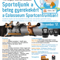 Sportoljunk a gyermekekért – november 12.