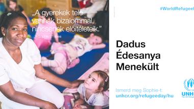 Plakátkampányt indít az ENSZ Magyarországon élő menekültekről