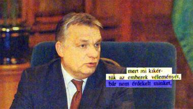 Orbán karácsonyi interjúja tökéletesen mutatja, hogyan falja fel a Fidesz a szabad médiát