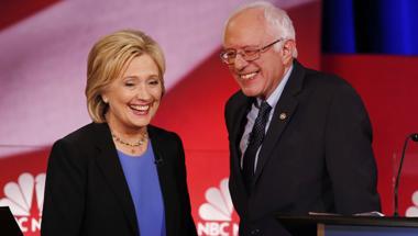 Fej-fej mellett végzett Bernie és Hillary az előválasztások első fordulóján