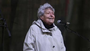 Ferge Zsuzsa 85 éves