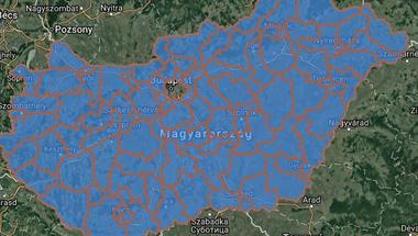 A választási térkép, ami a Trianonban rajzolt térképeknél is jobban kiszúrt a magyarokkal
