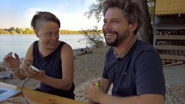 A mobilgát nem fog megépülni! – a Római-parton dolgozó aktivistákkal beszélgettünk