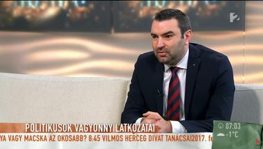 A TV2 Mokkában csak az ellenzékiek korruptak, és nem a politikusok, hanem a civilek vagyonát kell átvilágítani