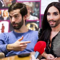 Bréking! Fekete-Győr András és Conchita Wurst, csak neeeem?