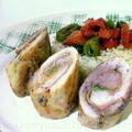 Csirkehús tekercs prosciuttoval és zsályával