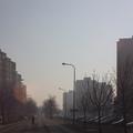 Párás téli utcákon