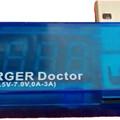 USB feszültség és áramerősség mérő, tesztelő (V/A, áram, volt mérő műszer)