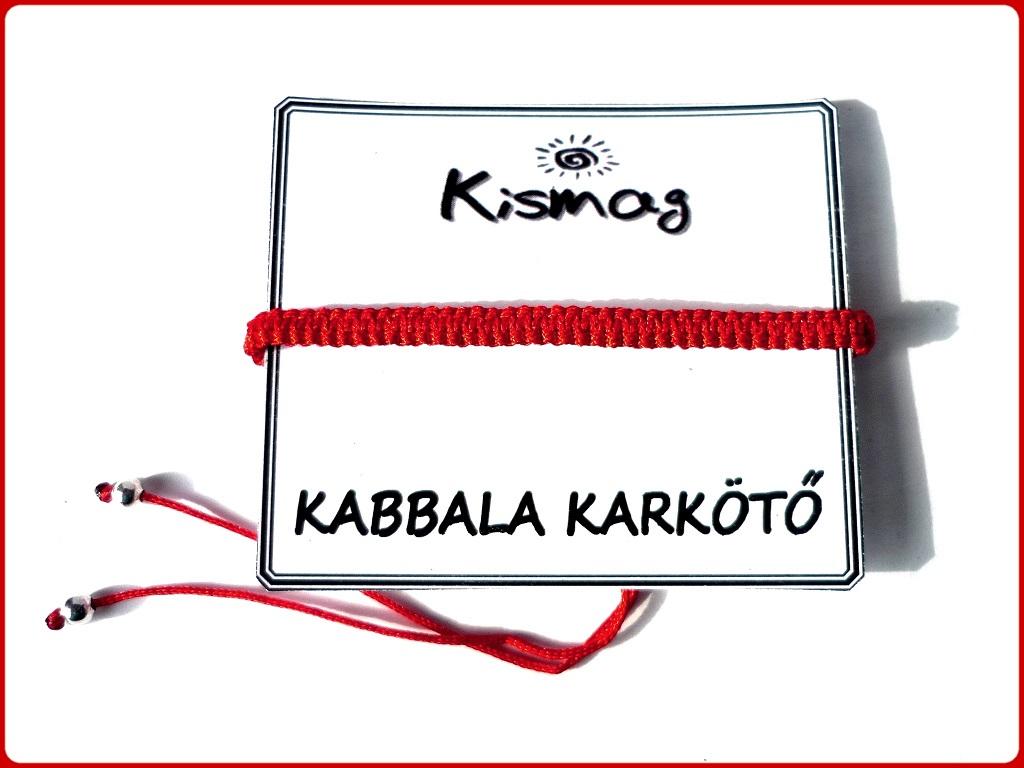 Kabbala piros karkötő vásárlás