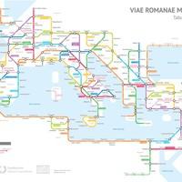 Az ókori Róma metrótérképen