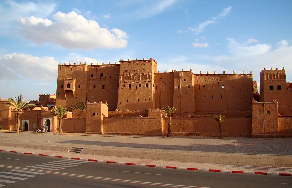 sivatagi kasbah (erőd)