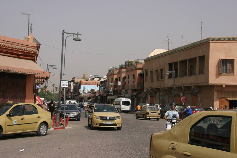 régi zsidó negyed Marrakechben