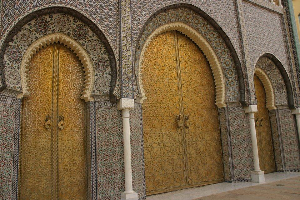Királyi palota kapuja Fezben