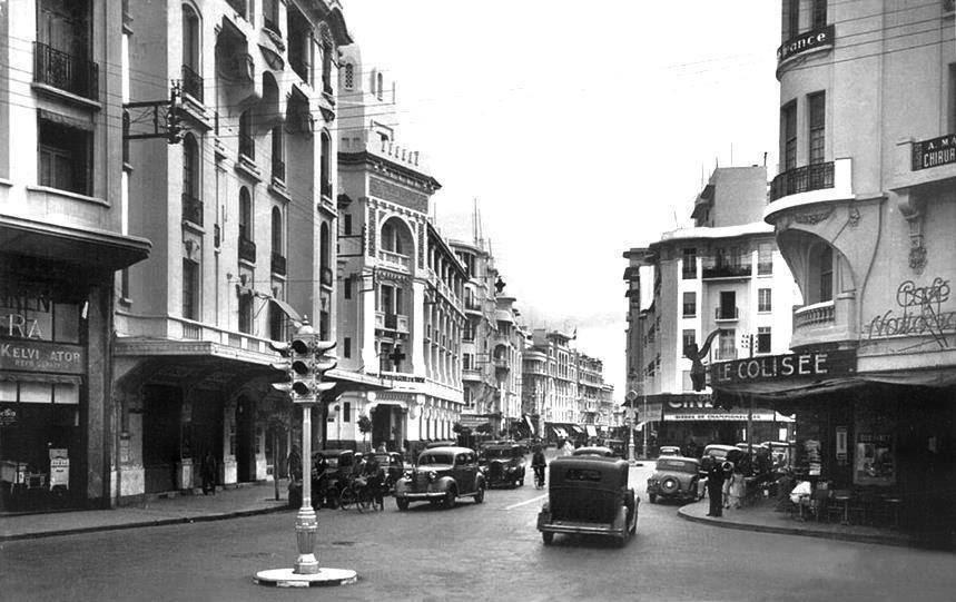 Casablanca régi fényképen