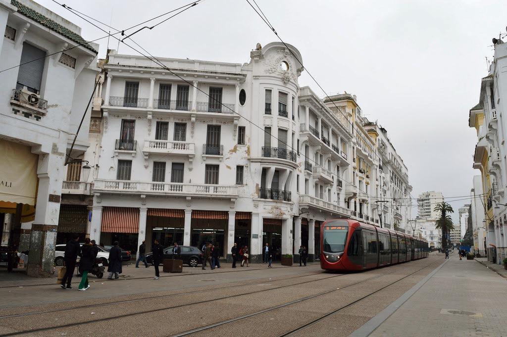 Casablanca, Art Deco (Art Nouveau) stílusú épület