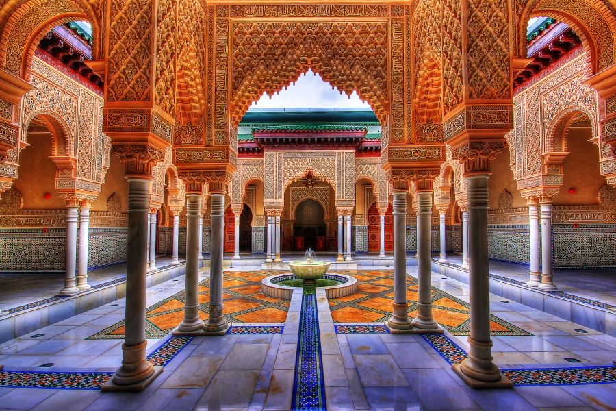 Moroccan Pavilion, Putrajaya, Malaysia