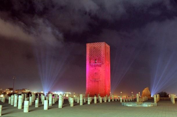 Rabat, Hasszán mecset