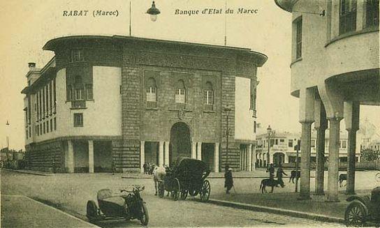 Rabat, a mór és az Art Deco/Art Nouveau stílus keresztezése