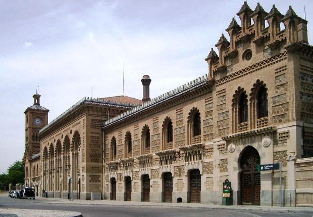 Toledó mór stílusú vasútállomása