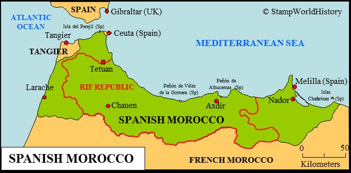 Spanyol gyarmati uralom alatti területek